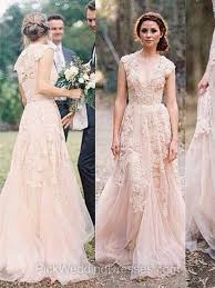 wedding dress nz shop a line sweep tulle appliques lace v neck wedding