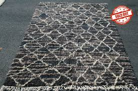 Organic Wool Rug Zaian Berber Rug Khenifra Tribal Rugs Are Hand Made Using Natural