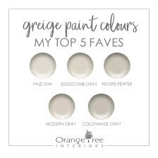 best greige cabinet colors how to choose a greige paint colour my top 5 faves 2019
