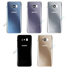 genuine samsung galaxy battery back rear glass cover replacement s8