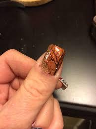 acrylic nail designs for fall ledufa