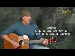 guitar lesson eagles lyin u0027 eyes acoustic song with strumming