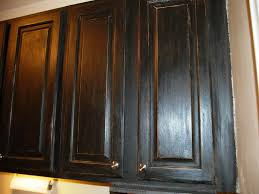 Kitchen Cabinet Varnish by Captivating Distressed Black Kitchen Cabinets Black Distressed