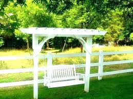 arbor swing plans free freestanding arbor swing plans large garden arbor arbor swing plans
