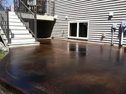 stained concrete patio cost dawndalto home decor different
