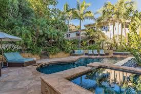 Backyard Pool And Basketball Court 501 E Channel Road Santa Monica