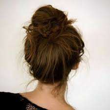 donut bun hair how to make a bun without a hair donut