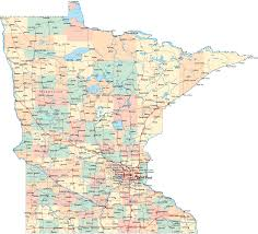 Map Of Wisconsin Cities by Map Of Minnesota Cities