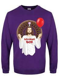 christmas jumper birthday boy men s purple christmas jumper buy online at