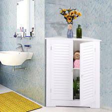 Corner Cabinet For Bathroom Storage by Bathroom Corner Cabinets Ebay