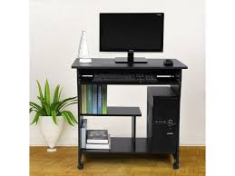 bureau informatique conforama superbe bureau informatique sur roulettes avec etagère noir neuf