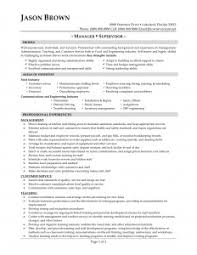 resume examples resume templates food service objective statement