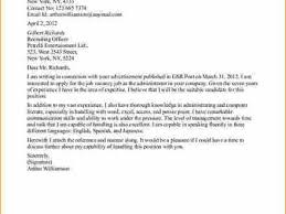 15 cover letter for administrative officer administrative