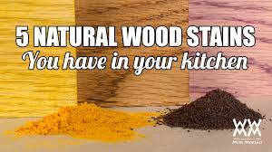 5 weird wood staining techniques natural wood coloring hacks that