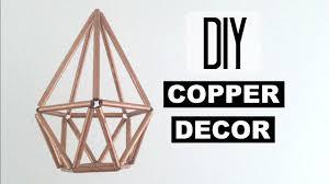 diy copper decor sher chu youtube