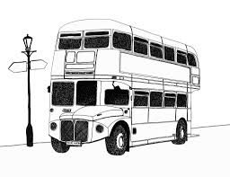 london bus pen drawing by michael levi pentel 0 2 a4 u2026 flickr