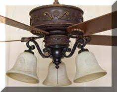 western ceiling fans with lights cc kvshr brz ru lk420 roundup western ceiling fan with light kit
