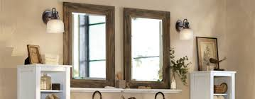 ideas rustic bathroom mirrors and bathroom faucet with bathroom