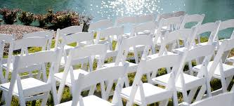 renting folding chairs party rental nyc manhattan island all