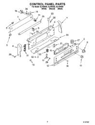 Whirlpool Ceran Cooktop Parts For Whirlpool Glp84800 Range Appliancepartspros Com