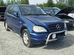 2001 mercedes ml320 auto auction ended on vin 4jgab54e71a239179 2001 mercedes