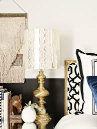 how to make a lampshade using any material you want i like that lamp ready to make your own shade