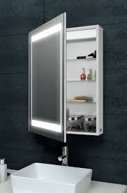 laura aluminium backlit mirrored bathroom cabinet benevola