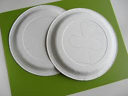 st patrick u0027s day spin art craft no time for flash cards