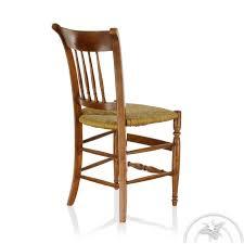 chaise en bois chaise ancienne bois et paille george sand saulaie