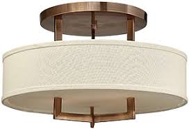 close to ceiling light fixtures hton large close ceiling light with linen drum shade house of