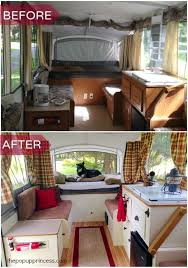 35 unbelievable camper remodel before and after on a budget https
