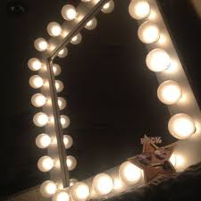 Makeup Artist Light Trend Wall Mirror With Light Bulbs 22 For Your Lighting For