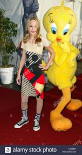 oct 26 2002 santa monica california brie larson and tweety