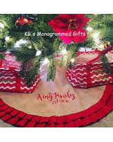 alert amazing deals on personalized tree skirts