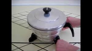 Old Fashioned Popcorn Machine How To Use Vintage Aluminum Popcorn Popper Mirro Kenmore Munsey