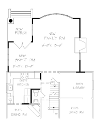 one room home addition plans family room master suite add on