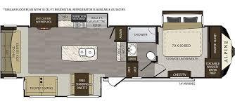 Open Range 5th Wheel Floor Plans Alpine