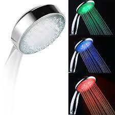aliexpress com buy led smart shower hand held head water
