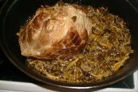 cuisiner les chanterelles grises 3 viande roti de porc ou veau aux chanterelles grises