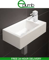 Modern Basins Bathrooms by Small Compact Square Rectangle Cloakroom Basin Bathroom Sink Wall