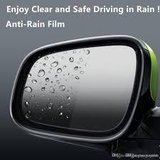 sample rain x anti fog anti rain film for car rear view mirror