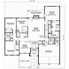 grilling porch tuscan house plan 3 bedrooms 2 bath 2256 sq ft plan 12 873