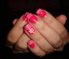 Freehand Nail Art Designs  Inkcloth - At home nail art designs for beginners