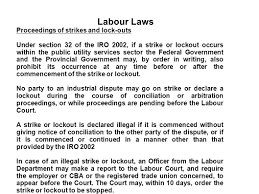 Canada Labour Code Notice Of Termination by Labour Laws In Pakistan Ppt Video Online Download