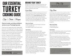 Top Turkeys For Thanksgiving Turkey Reservation Guide Fleishers Craft Butchery