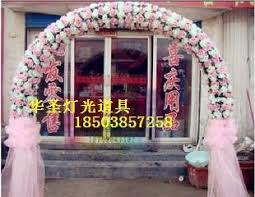 wedding flower arches uk st wedding props happiness door frame wedding flower arches