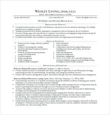 sample resume of hr executive our 1 top pick for human resources