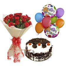 deliver birthday cake and balloons rosy balloons forest cake online birthday cake order sameday