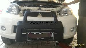 All New Pajero Sport List Kap Mobil Depan Molding Chrome no limits