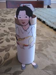 toilet paper roll nurse kiddie crafts 365 blog